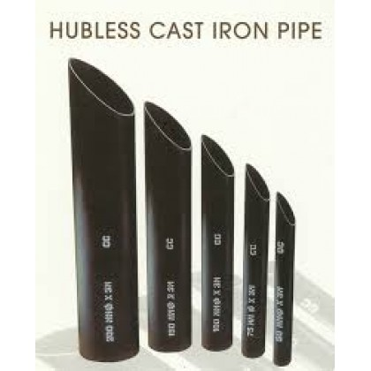 CAST IRON SOIL PIPE (HUBLESS TYPE)